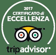 TripAdvisor Italia Tuscany Adventure Certificato di Eccellenza 2017
